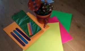 Taller de Macetas Decorativas en La Casa Verde